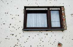 Bullet Holes stock photo