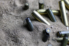 Free Bullet In The Sand Royalty Free Stock Images - 89253869