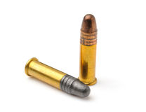 Bullet. Isolated on white background Royalty Free Stock Images