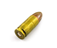Bullet isolated on white background Stock Photography