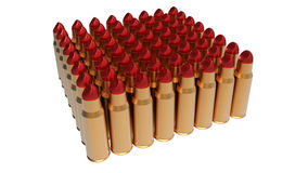 Bullet Lipstick Stock Images