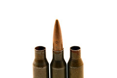 Bullet in the middle Stock Photo
