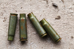 Bullet, military ammunition Stock Images