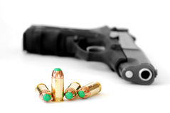Bullet Military Tactical Gun Royalty Free Stock Photo