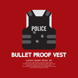 Bullet Proof Vest. Vector Illustration Royalty Free Stock Image