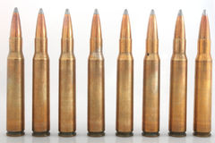 Bullet row royalty free stock images