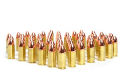 Bullet Rows Stock Image