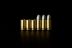 Bullet and Shell Royalty Free Stock Images