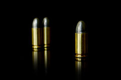 Bullet and Shell Royalty Free Stock Photography