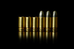 Bullet and Shell Stock Photography