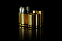 Bullet and Shell Royalty Free Stock Photo