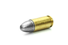 Bullet and Shell Stock Photo
