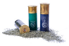 Bullet shells Stock Images