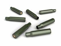 Bullet shells Royalty Free Stock Image