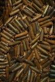 Bullet shells. A lot of Bullet shells texture Royalty Free Stock Photos