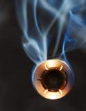 Bullet and smoke Royalty Free Stock Photo