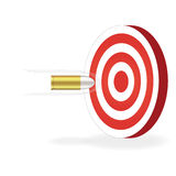Bullet and Target Stock Photos