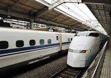 Bullet train Royalty Free Stock Photo