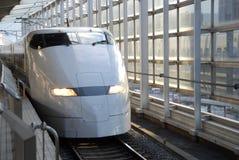 Bullet train. Shinkansen bullet train in Japan Stock Images