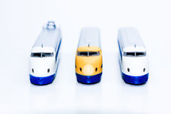 Bullet train isolated Stock Photos