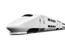 Bullet Train Isolated Stock Photo