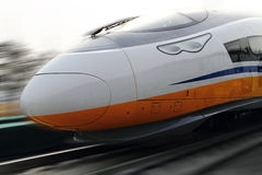 Bullet trains Royalty Free Stock Image