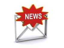 Bulletin photographie stock libre de droits
