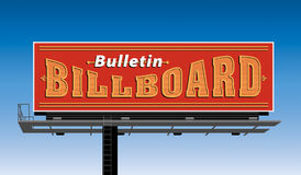 Bulletin Billboard Royalty Free Stock Images