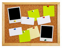Bulletin board Stock Image