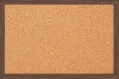Bulletin Board. A cork bulletin board with a wooden frame, bulletin board Stock Photography