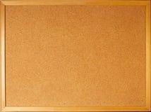 Bulletin board. Empty large blank bulletin board Royalty Free Stock Photography