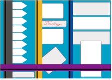 Bulletin Board for labels Stock Photo