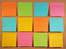 Free Bulletin Board Notes Stock Images - 1631314