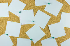 Bulleting cork board Stock Images