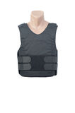 Bulletproof vest. Isolated of white stock image