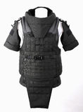 Bulletproof vest. Body armor covers, Camouflage, black royalty free stock photos