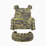 Bulletproof vest. And waist belt, body armor covers, Camouflage Royalty Free Stock Photography