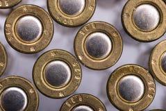Bullets. World War II 6.35 caliber bullets royalty free stock photo