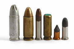 Bullets. On the white background Royalty Free Stock Photography