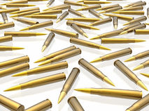 Bullets. (see more in my portfolio Stock Image