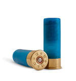 Bullets. Pools for handgun on white background Royalty Free Stock Photography