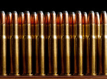 Bullets. Ammo. Lots and lots of ammo stock image