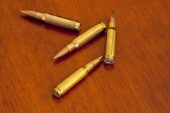 bullets Imágenes de archivo libres de regalías