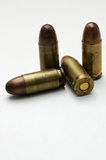 Bullets. This is a few  pistol 7.62mm bullets Royalty Free Stock Photos