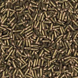 Bullets background. 3D render of 9 mm bullets Stock Image