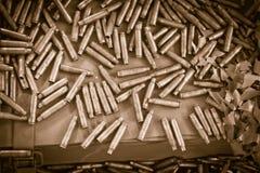 Bullets background Stock Image