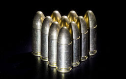 The bullets Royalty Free Stock Photography