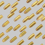 Bullets bombardment seamless pattern Royalty Free Stock Photography