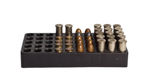 Bullets and Bullet Shells Royalty Free Stock Photos