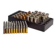 Bullets and Bullet Shells Stock Photo
